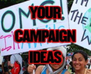 Your Campaign Ideas