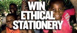 Win ethical stationary!
